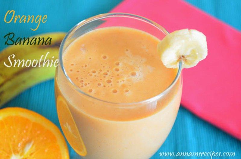 Orange Banana Smoothie Orange Banana Smoothie Recipe