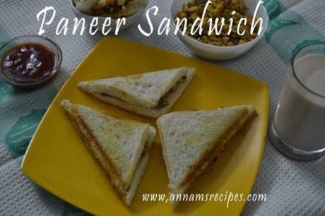 Paneer Sandwich Paneer Sandwich Recipes