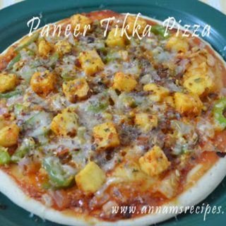 Paneer Tikka Pizza | Paneer Tikka Pizza Recipe