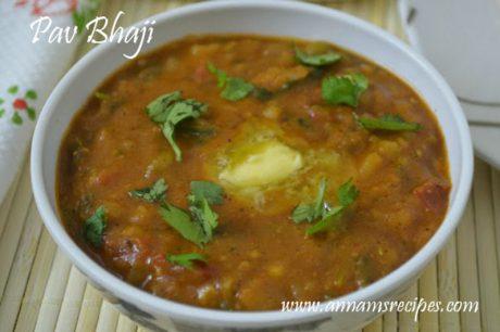 Pav Bhaji Recipe Pav Bhaji Masala