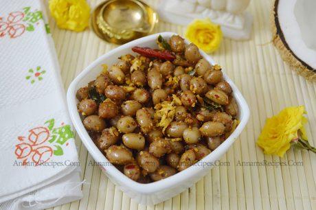 Peanut Masala Sundal Peanut Masala Sundal Recipe