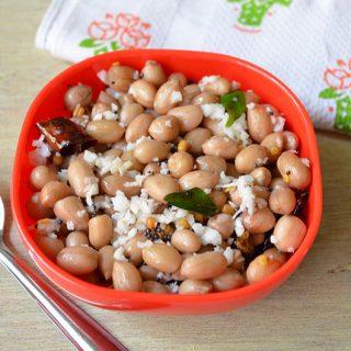 Peanut sundal | Peanut sundal Recipe