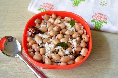 Peanut sundal Peanut sundal Recipe