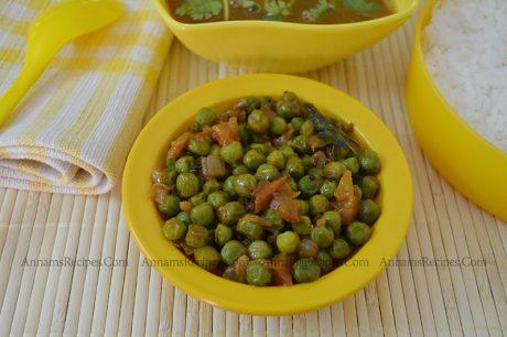 Peas Masala Peas Masala Recipe