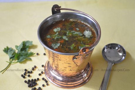 Pepper Rasam Pepper Rasam Recipe