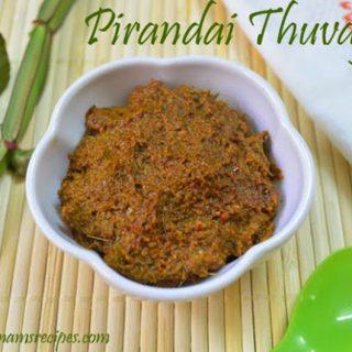 Pirandai Thuvaiyal | Pirandai Chutney Recipe