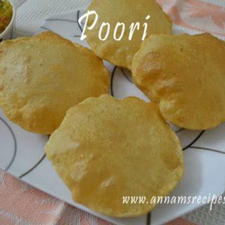 Poori | Poori Recipe