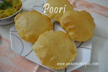 Poori Poori Recipe