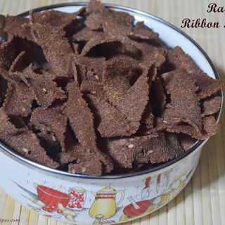Ragi Ribbon Pakkoda | Ragi Ribbon Pakkoda Recipe