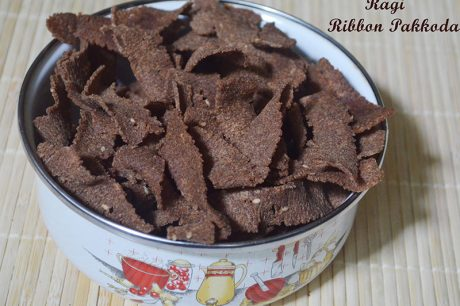 Ragi Ribbon Pakkoda Ragi Ribbon Pakkoda Recipe