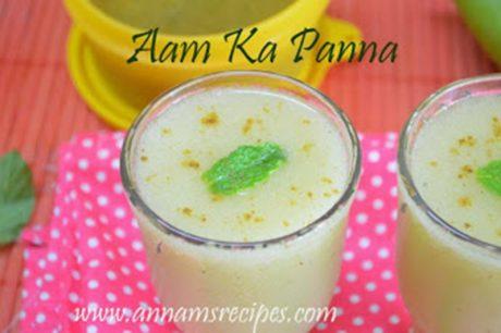 Raw Mango Juice Aam Ka Panna Recipe
