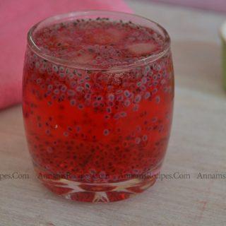 Rose Basil Sarbath Recipe | Rose Sarbath