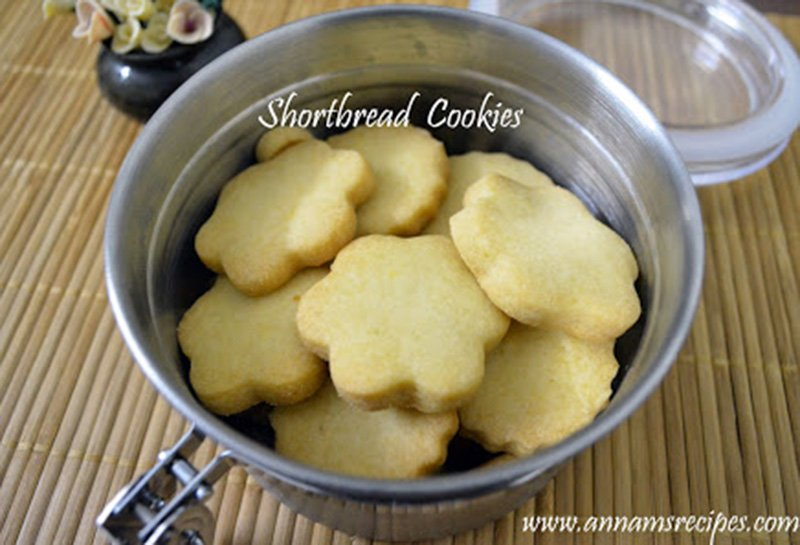 Short Bread Cookies Easy Short Bread Cookies