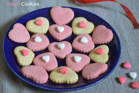 Soft Heart Cookies soft heart shaped sugar cookies