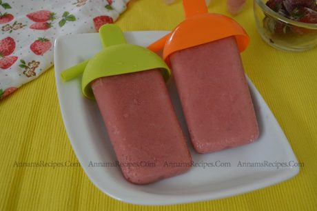 Strawberry Banana Popsicle Strawberry Banana Popsicle Recipe