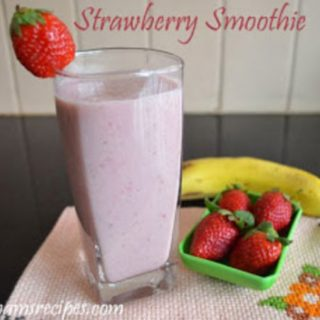 Strawberry Banana Yogurt Smoothie | Strawberry Banana Yogurt Smoothie Recipe