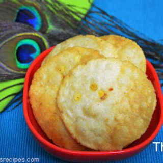 Thattai Recipe | Thattu vadai Recipe