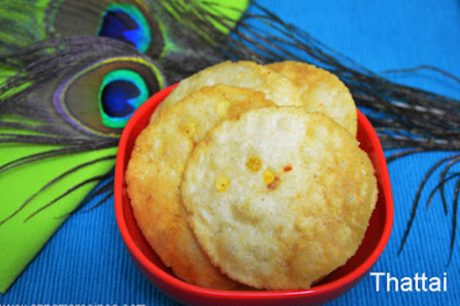 Thattai Recipe Thattu vadai Recipe