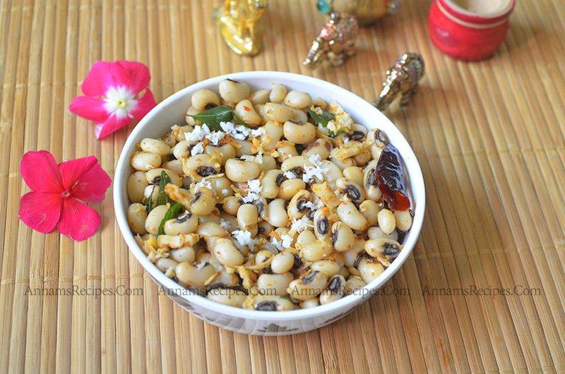 Thattapayaru sundal Recipe Karamani Sundal