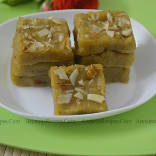 Thinai Burfi Recipe | Thinai Maavu Burfi