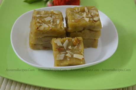 Thinai Burfi Recipe Thinai Maavu Burfi