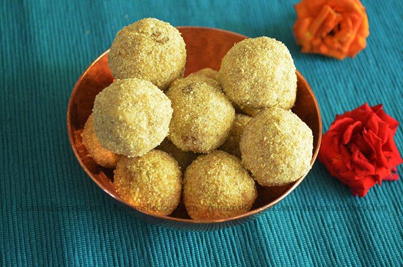 Thinai Laddu Thinai Laddu Recipe