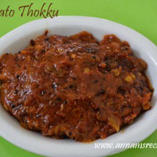 Tomato Thokku Recipe | Thakkali Thokku