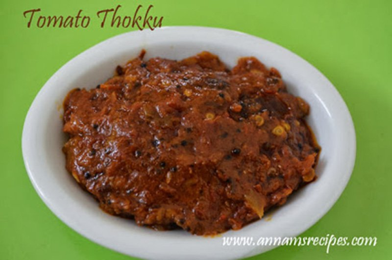 Tomato Thokku Recipe Thakkali Thokku