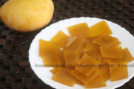 Mango Bar recipe or Mango Candy