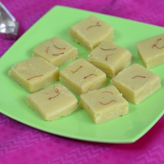 Easy and Nutritious Badam Burfi | Badam Burfi Recipe