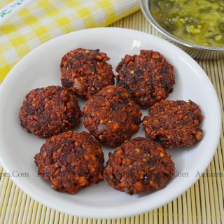 Beetroot Vadai | Beetroot Vadai Recipe