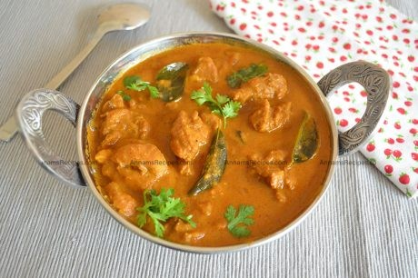 Chettinad Chicken kulambu recipe Chettinad Chicken kulambu