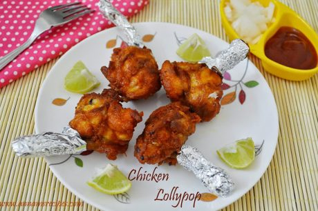 Chicken Lollipop Chicken Lollipop Recipe