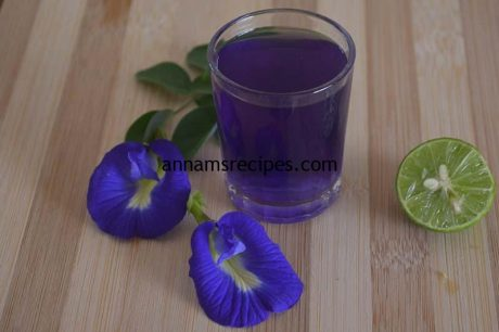 Indian Blue Tea Recipe Butterfly Pea Tea