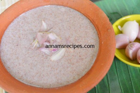 Ragi Koozh in English | Ragi Koozh Recipe