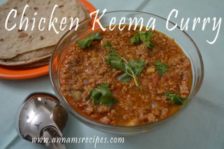 Chicken Keema Curry Recipe Chicken Keema Curry