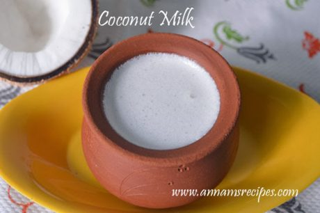Coconut Milk Coconut Milk Recipe