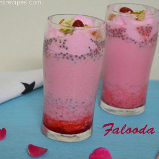 Falooda | Falooda Recipe at Home
