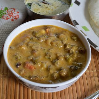 Fresh Green Chickpeas Kurma | Chickpeas Kurma Recipe