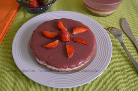 Strawberry Cheese Cake Strawberry Cheese Cake Recipe
