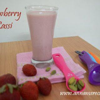 Strawberry Lassi Recipe | Strawberry Lassi