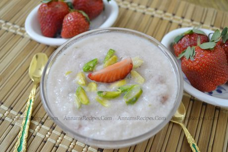 Strawberry Phirni Strawberry Phirni Recipe