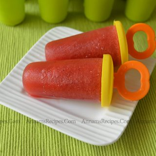 Strawberry Popsicle | Strawberry Popsicle Recipe