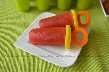 Strawberry Popsicle Strawberry Popsicle Recipe