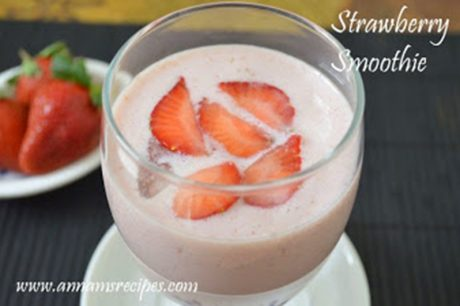 Strawberry Smoothie Strawberry Smoothie Recipe
