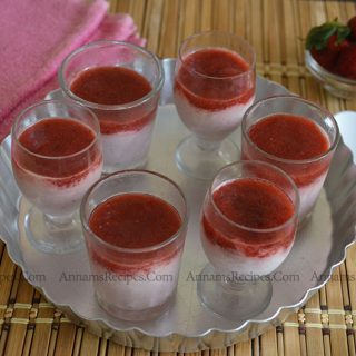 Strawberry Mousse | Strawberry Mousse Recipe