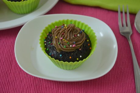 Chocolate Cup Cake Recipe Eggless Chocolate Cup Cake