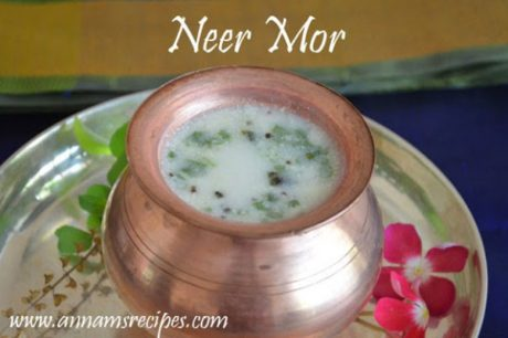 Neer Mor Recipe Spicy Butter Milk