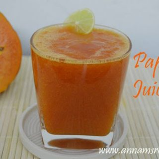 Papaya Juice   Papaya Juice Recipes