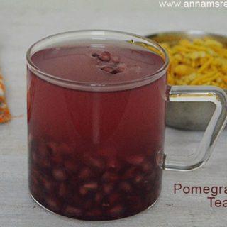 Pomegranate Tea | Pomegranate Tea Recipe